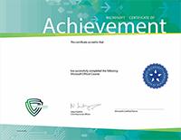 Сертификат Microsoft